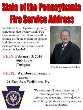 2-3 Fire Service Address, Wellsboro