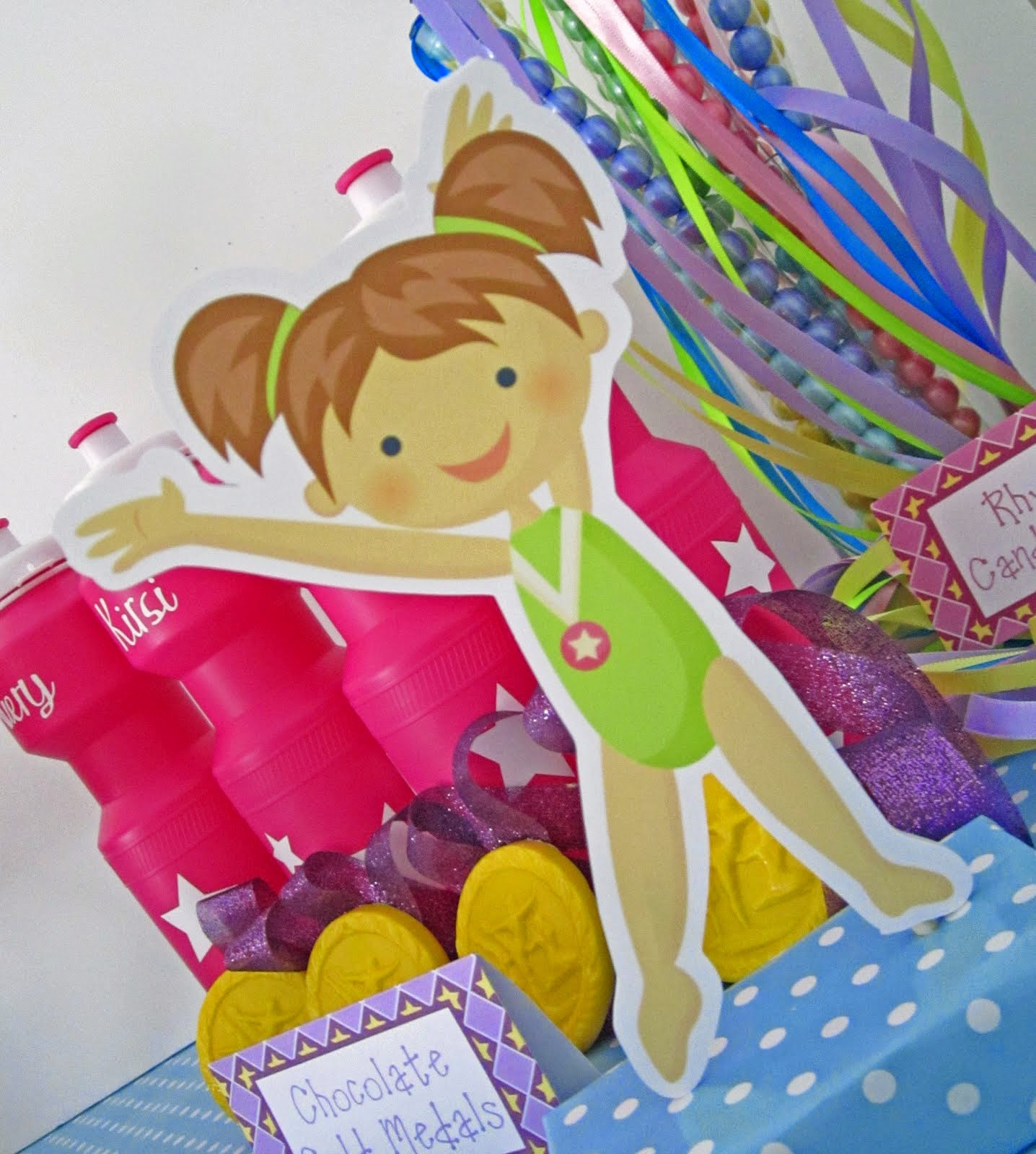 Gymnastics Birthday Party Decorations Sweeten Your Day Events Rainbow Dash Pony Party