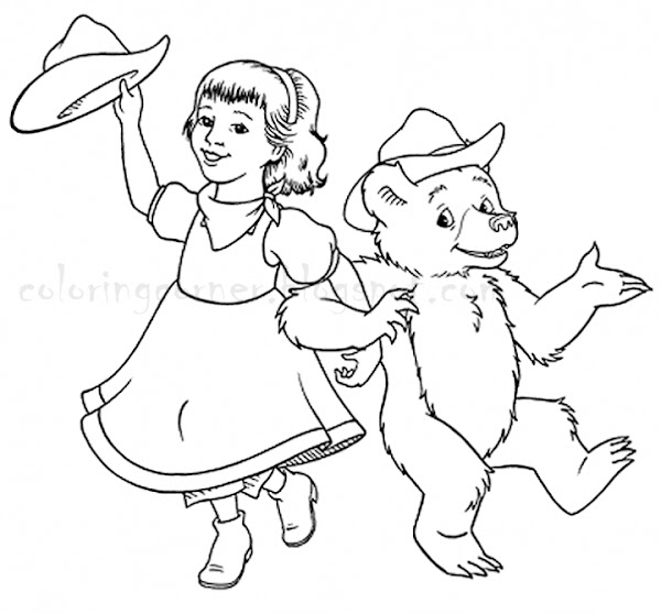Brown Bear Brown Bear What Do You See Printable Coloring Pages