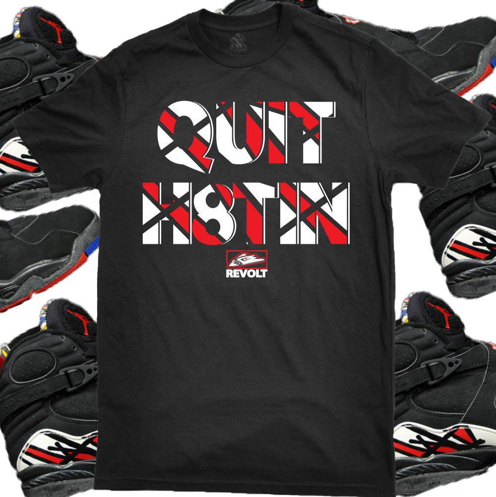 Air Jordan 8 Séries Éliminatoires Chemises Pré-commander h1gPxtKh2