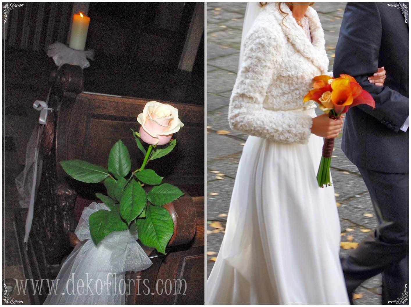 bukiet slubny do kremowej sukni slubnej Opole, dekoracja ślubna kościoła Jezuitów Opole