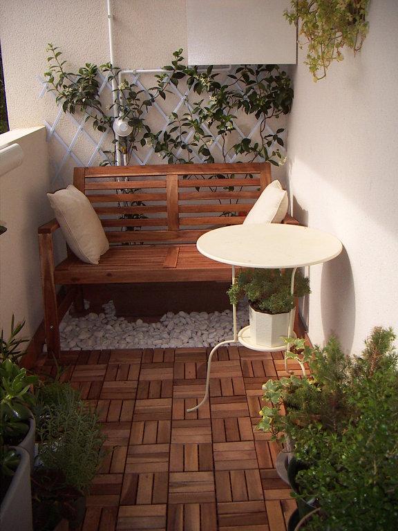 Decoracion Terrazas Pequenas Departamentos ~   para tu casa Inspiraciones y asesor?a online  TERRAZAS PEQUE?AS