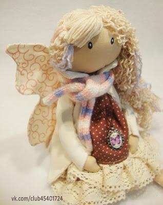 Интерьерная кукла. Фея...  с секретиком.