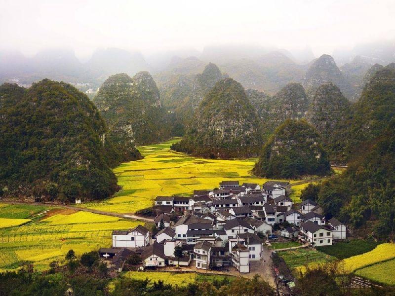 Tiny towns Xinyi, China