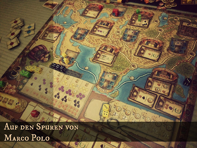 how to play marco polo board game