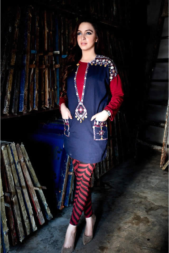 Maria.B. Winter Evening Wear Collection For Women