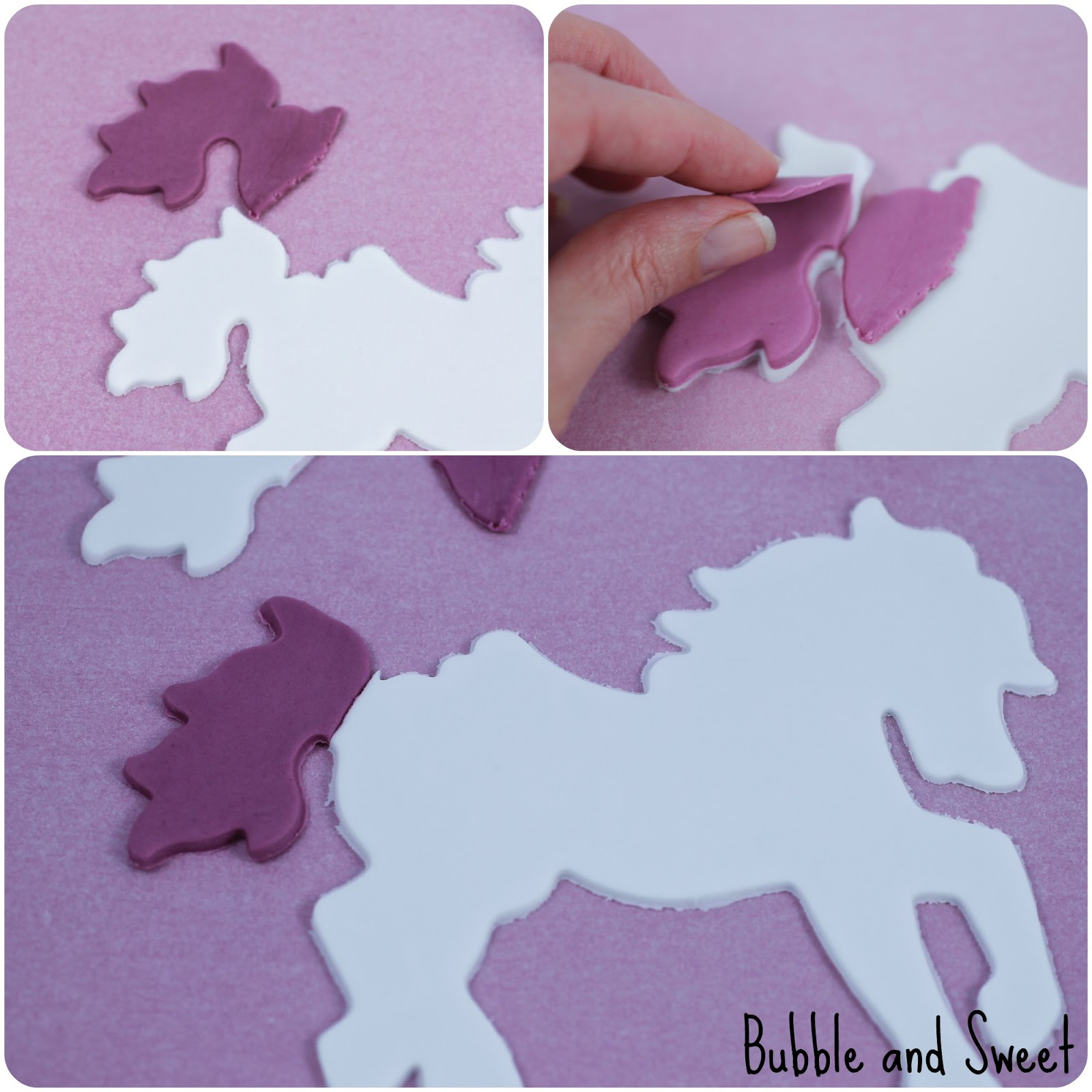 bubble and sweet unicorn cookie instructions i wish i was a