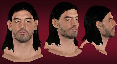 NBA 2K13 Luis Scola Cyberface Patches