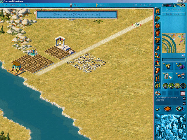 Poseidon: Master of Atlantis - Colapsed Building Screenshot