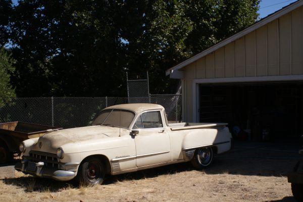 Insomniac Garage: Found on Craigslist: 1949 Cadillac Pickup