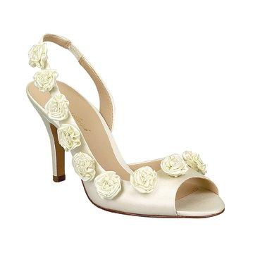 Brianna Leigh Women S Sophia 412 Bridal Shoes Ivory Bridal Shoe Sophia