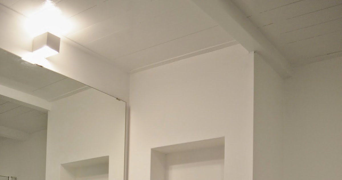 de nieuwe badkamer