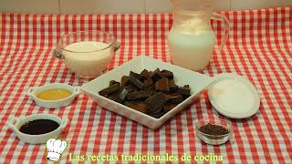 Receta de copas de chocolate y nata