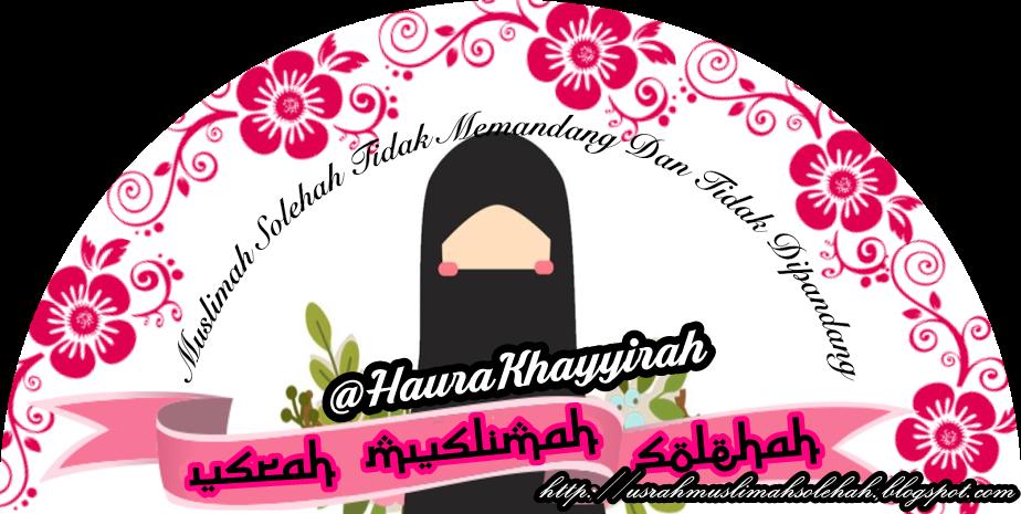 Usrah Muslimah Solehah
