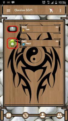 BBM MOD Wood Theme 2.9.0.45 APK