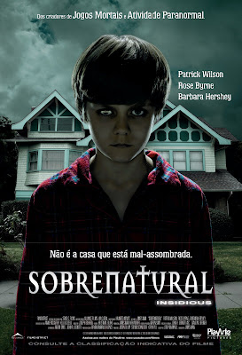 Insidious Filme Sobrenatural Poster