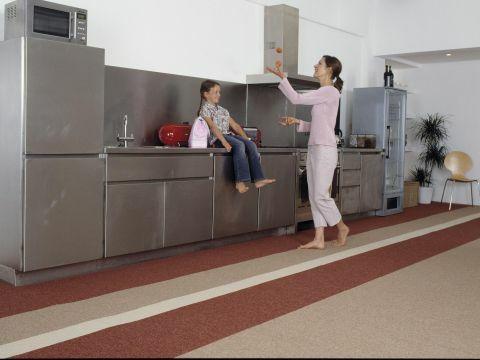 Speciale tapijttegels voor in de keuken of eetkamer wonen 2017 - Eetkamer keuken ...