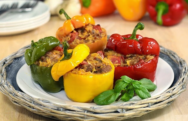 γεμιστές πιπεριές συνταγή