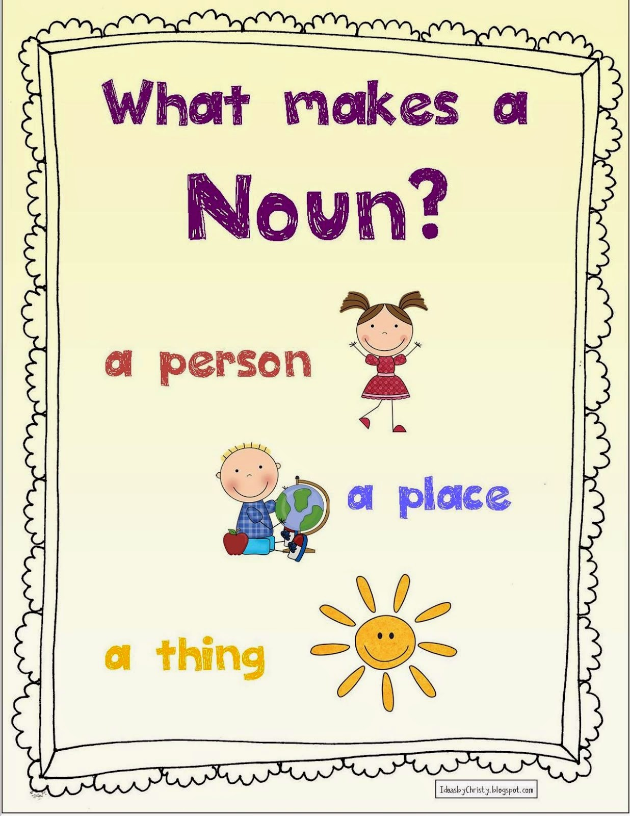 how to use a noun in english