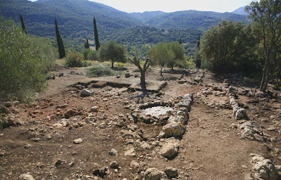 The Mycenaean megaron at Tzannata, Kephalonia