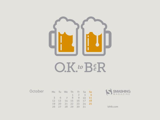 October-Calendar-2015 Designed  by Igor Izhik