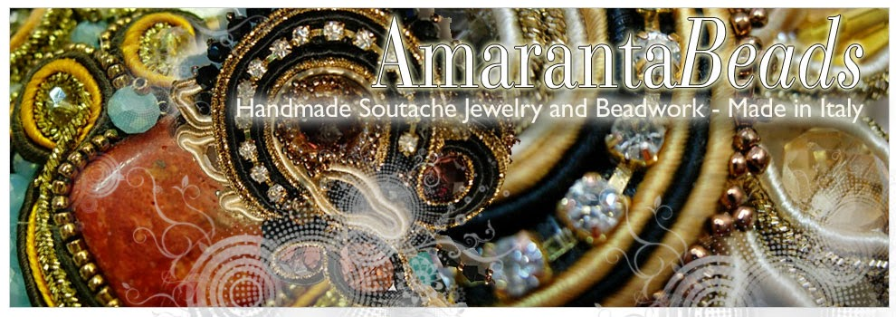 Amaranta Beads HandMade in Italy Soutache Jewerly and Beads Works