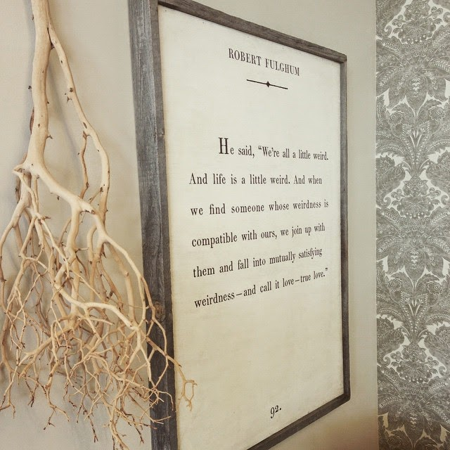 The New Victorian Ruralist Book Page Quote Art Available