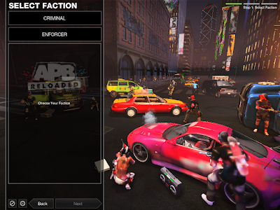 APB Reloaded - Faction Selection