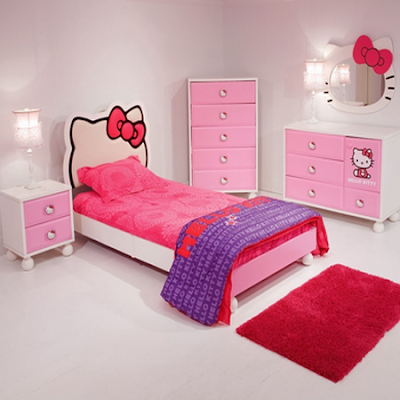 Tempat Tidur Minimalis Anak Perempuan