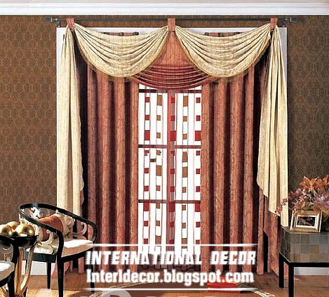 Interior Design 2014: Best curtain models 2013, unique draperies ...