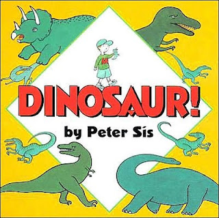 Children's books Dinosaur by Peter Sis