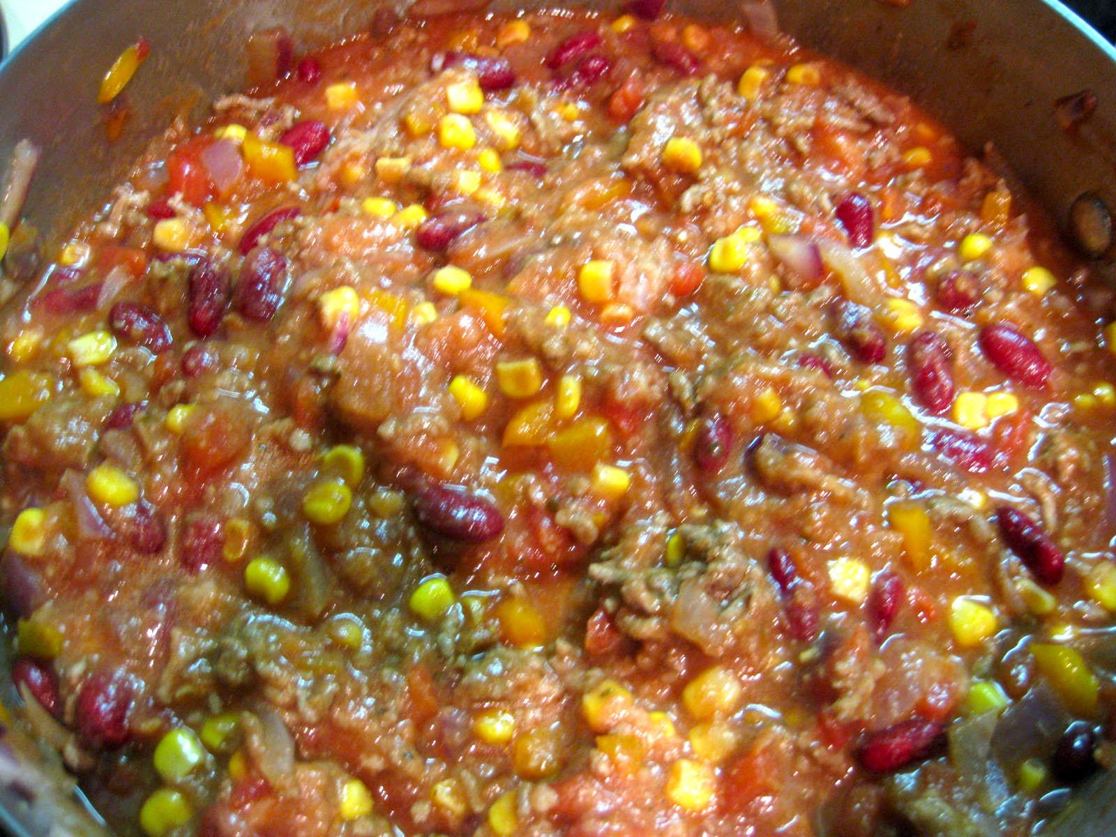 Vanilla & Lace: Turkey Chili Taco Soup