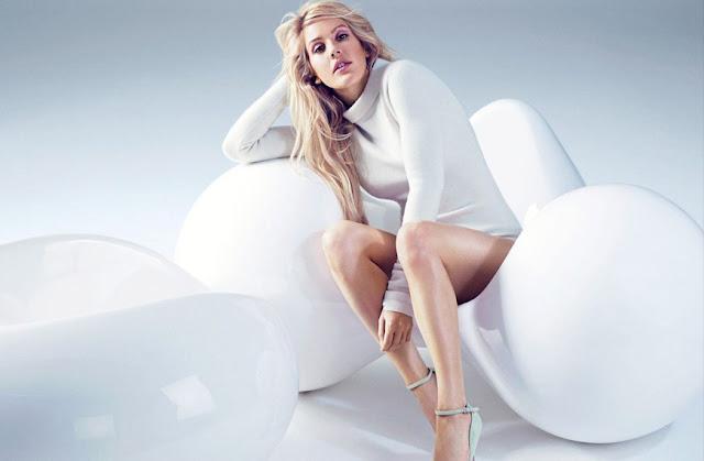 """Ellie Goulding es la nueva portada de la revista """"Cosmopolitan"""" y afirma que Taylor Swift es una leyenda."""