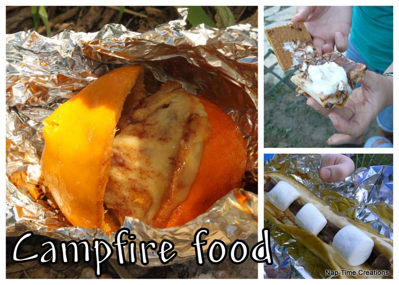 Campfire FOOD! and Tasty Tuesday party - Nap-time Creations