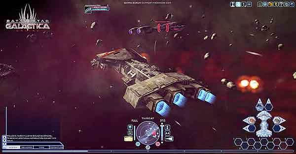 Download Free PC Games - Battlestar Galactica Online