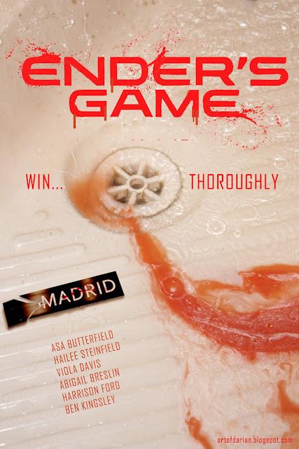 Alternative Ender's Game Movie Poster by Darian Robbins