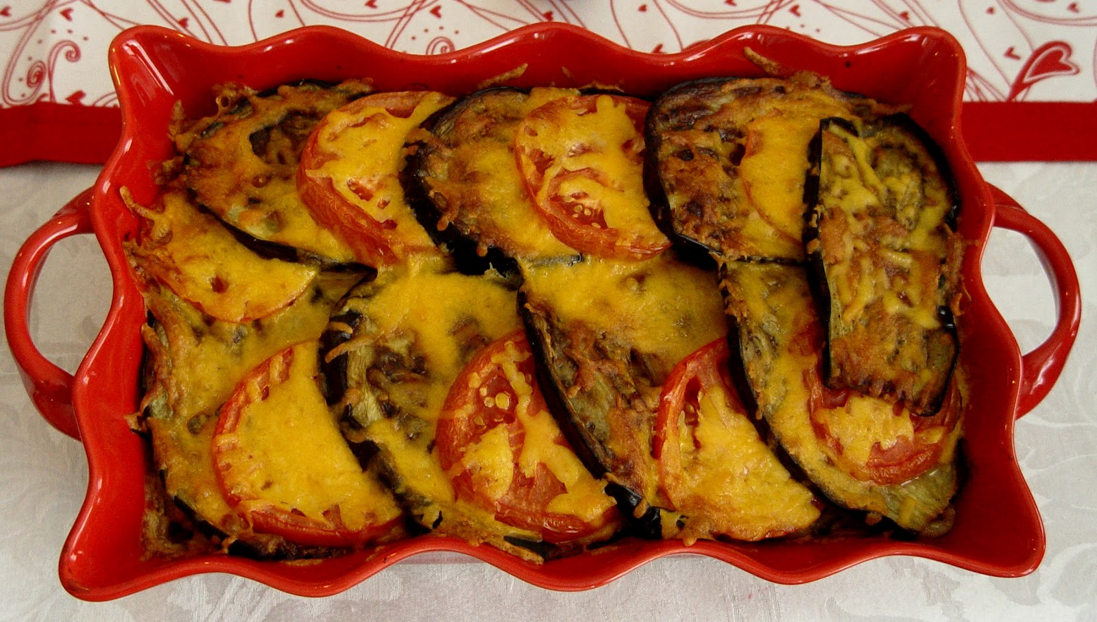 Fırında patlıcanlı makarna tarifi(resimli anlatım)