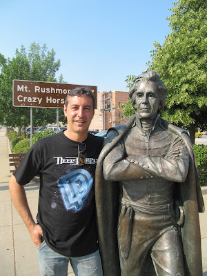 Andrew Jackson statue, estatua de Andrew Jackson