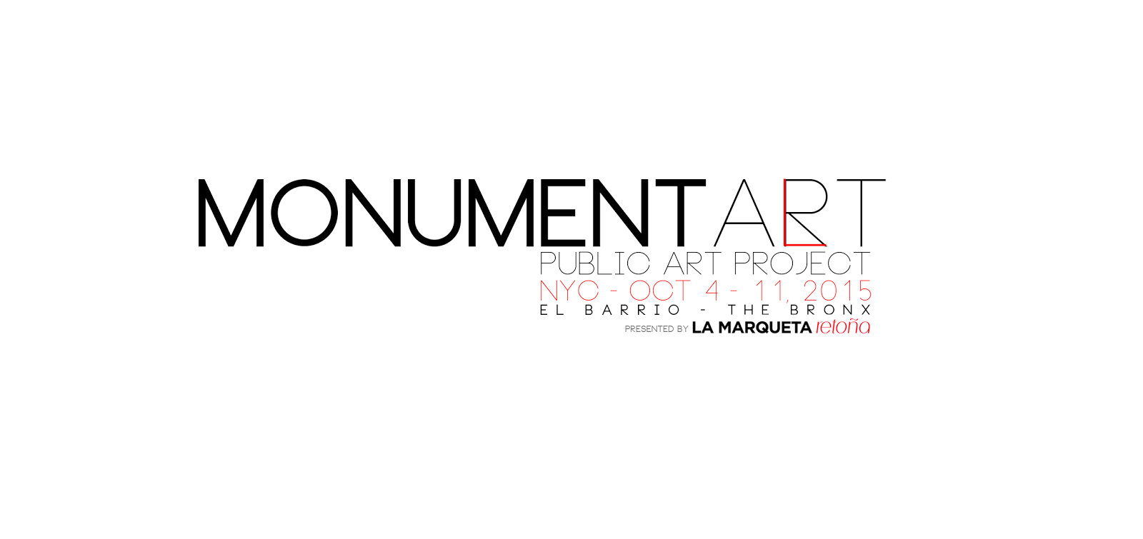 MONUMENT ART PROJECT