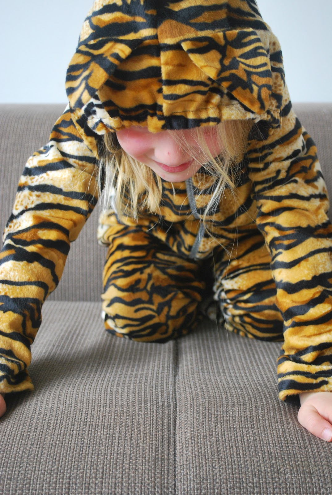 tijger pak maken