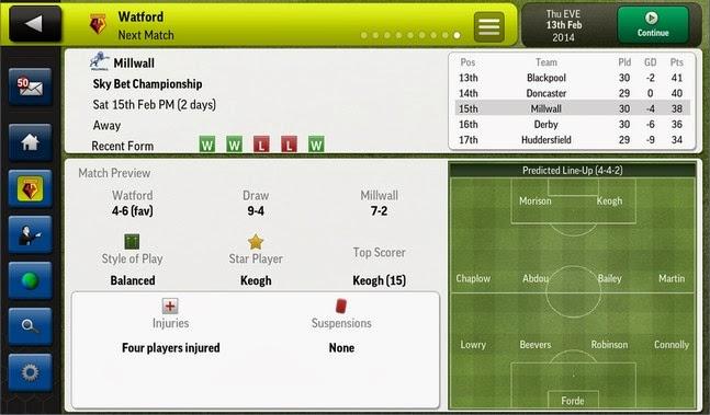 Football Manager Handheld 2014 android apk - Screenshoot