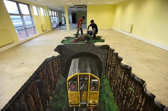 diaforetiko.gr : 3d street art 07 Δείτε εκπληκτικές 3D ζωγραφιές στο δρόμο...