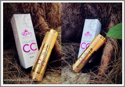 Collagen CC CREAM By Raily Cosmetic