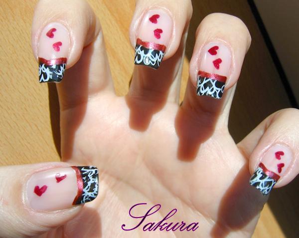 beautiful & stunning nail art design