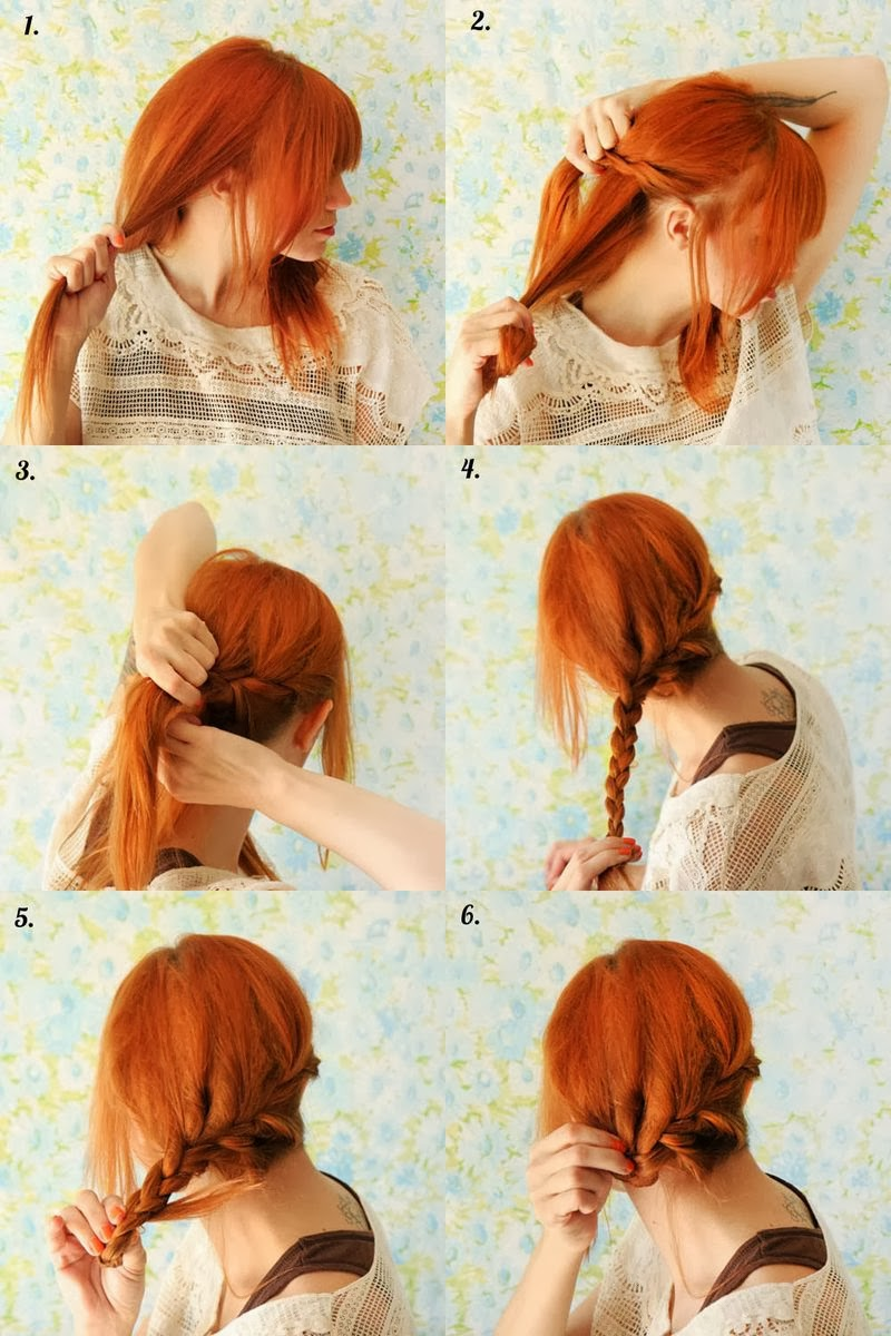 cute hairstyles for long hair braid