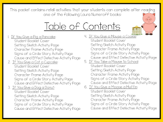 http://www.teacherspayteachers.com/Product/Laura-Numeroff-Retell-Packet-968780