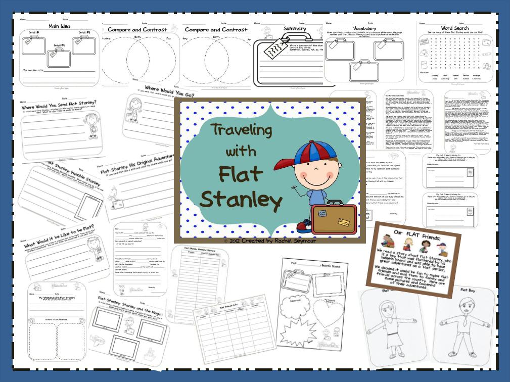 A - B - Seymour: Flat Stanley Unit And My Blog Has Been Nominated!!