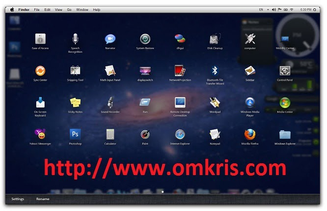 Tema Apple Mac OS X Lion 10.7