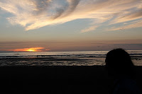Atardecer en Himatangi Beach.