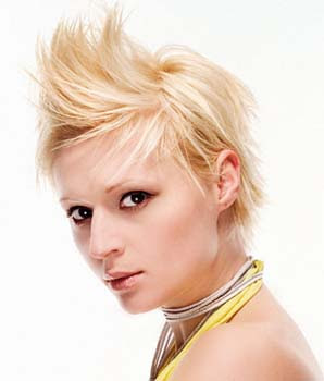 Mohawk Short Hairstyles 2013